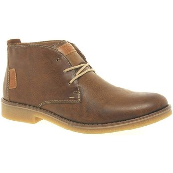Shoes Men Mid boots Rieker Wales Mens Desert Boots brown