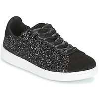 Shoes Women Low top trainers Yurban HELVINE Black