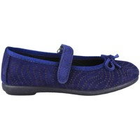 Shoes Children Flat shoes Vulladi SERRAJE MANOLETINA VELCRO BLUE