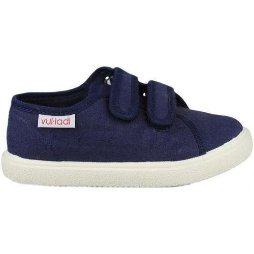 Shoes Children Low top trainers Vulladi PIQUE BLUE