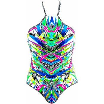 Clothing Women Swimsuits Freya 1 Piece Multicolor Swimsuit Tropicool MULTICOLOUR