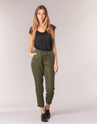 Clothing Women Wide leg / Harem trousers G-Star Raw BRONSON SPORT WMN Kaki