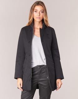 Clothing Women Parkas G-Star Raw MINOR CLASSIC PADDED SLIM COAT Black