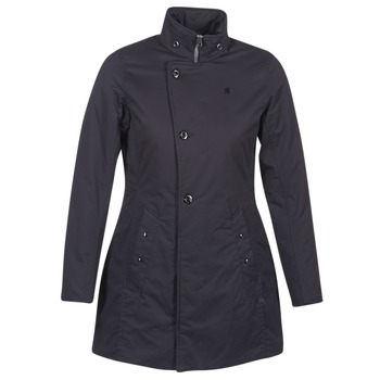 Clothing Women Parkas G-Star Raw MINOR CLASSIC PADDED SLIM COAT Black