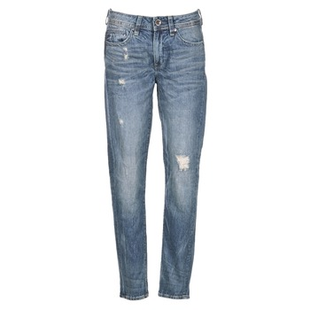 Clothing Women Boyfriend jeans G-Star Raw MIDGE SADDLE BOYFRIEND WMN Blue