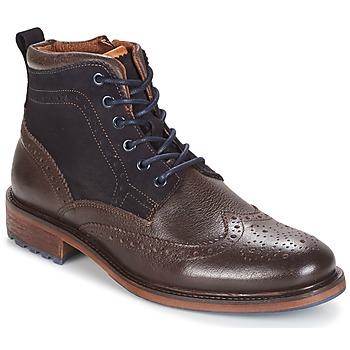 Shoes Men Mid boots Coxx Borba RESERVA Brown / MARINE