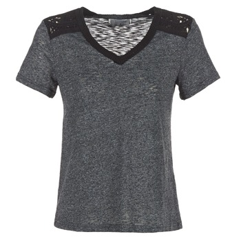 Clothing Women Short-sleeved t-shirts Casual Attitude HINE Grey