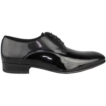 Shoes Men Derby Shoes Sergio Serrano ZAPATOS NOVIO CHAROL LUXORY BLACK