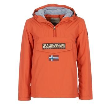 Clothing Men Parkas Napapijri RAINFOREST Orange