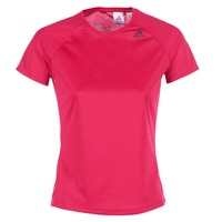 Clothing Women short-sleeved t-shirts adidas Performance D2M TEE LOSE Pink