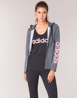 Clothing Women sweatpants adidas Performance ESS LIN FZ HD Grey