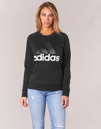 Clothing Women sweaters adidas Originals ZSS LIN SWEAT Black