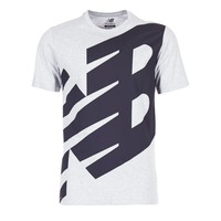Clothing Men short-sleeved t-shirts New Balance NB ESSENTIEL T Grey