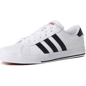 Shoes Men Low top trainers adidas Originals DAILY FTWBLA/NEGBAS/ESCARL BLANCO