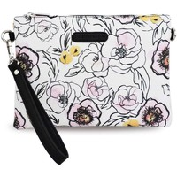 Bags Women Pouches / Clutches L'atelier Du Sac 4883 Pochette Accessories White White
