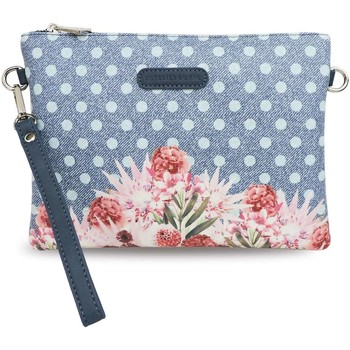 Bags Women Pouches / Clutches L'atelier Du Sac 4904 Pochette Accessories Blue Blue