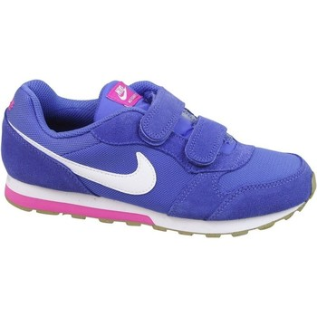 Shoes Children Low top trainers Nike MD Runner 2 Psv Pink-White-Violet
