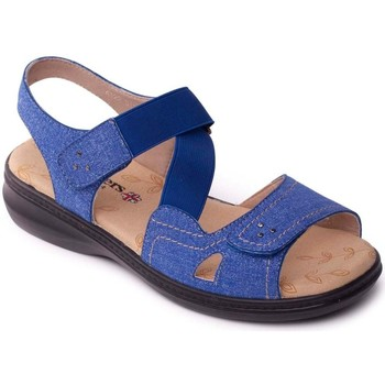 Shoes Women Sandals Padders Louise 2 Womens Casual Sandals blue