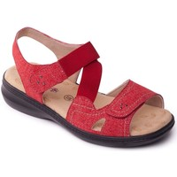 Shoes Women Sandals Padders Louise 2 Womens Casual Sandals red