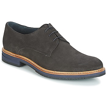 Shoes Men Derby Shoes Carlington HARMONE Grey