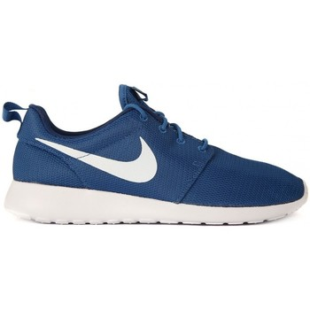 Shoes Men Low top trainers Nike ROSHE ONE BLUE Blu