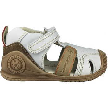 Shoes Children Sandals Biomecanics KAISER SANDALIA CERRADA WHITE