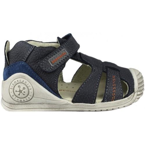 Shoes Children Sandals Biomecanics  BLUE