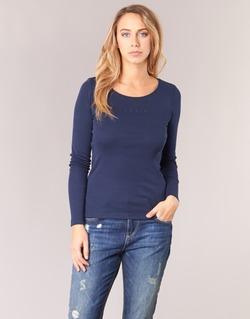Clothing Women Long sleeved tee-shirts Esprit GIMUL Marine