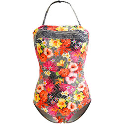 Clothing Women Swimsuits Sun Playa 1 Piece Multicolor Bustier Azalea MULTICOLOUR