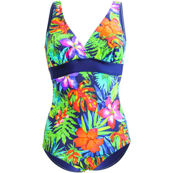 Clothing Women Swimsuits Sun Playa 1 Piece Multicolor Swimsuit Comfort Morane MULTICOLOUR