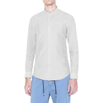 Clothing Men long-sleeved shirts Antony Morato MMSL00385 FA420055 Shirt Man Bianco Bianco