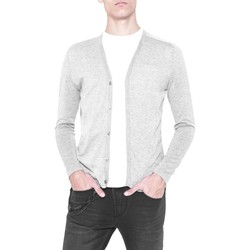 Clothing Men Jackets / Cardigans Antony Morato MMSW00644 YA100014 Cardigan Man Grey Grey