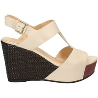 Shoes Women Sandals Café Noir HD127 Wedge sandals Women Grigio