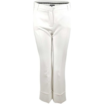 Clothing Women 5-pocket trousers Denny Rose 73DR12007 Trousers Women Bianco Bianco
