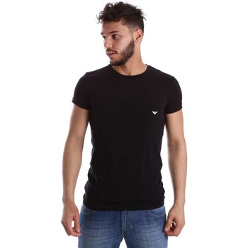 Emporio Armani EA7  111035 CC729 Tshirt Man  mens T shirt in black