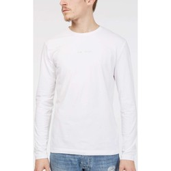 Clothing Men Long sleeved tee-shirts Gas 300161 T-shirt Man White White