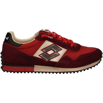 Shoes Men Low top trainers Lotto S8846 Sneakers Man Red Red