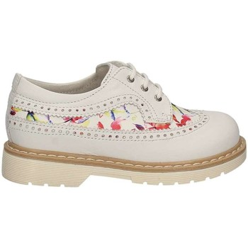Shoes Children Derby Shoes Nero Giardini P722090F Lace-up heels Kid White White