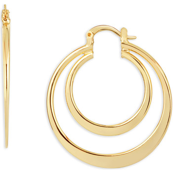 Watches Women Earrings Fashionvictime Earrings Hoops For Women By  - Gold-Plated-Base Jewel Doré,