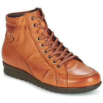 Shoes Women Hi top trainers Pitillos 2631 COGNAC