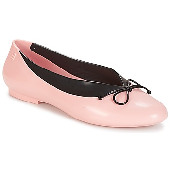 Shoes Women Flat shoes Melissa JUST DANCE Pink / Black