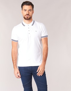 Clothing Men short-sleeved polo shirts Diesel RANDY White