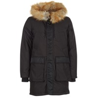 Clothing Men Parkas Diesel FOLK Black