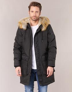 Clothing Men Parkas Diesel FOLK Black