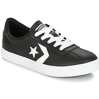 Shoes Children Low top trainers Converse BREAKPOINT FOUNDATIONAL LEATHER BP OX BLACK/WHITE/BLACK Black / White
