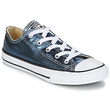 Shoes Girl Low top trainers Converse CHUCK TAYLOR ALL STAR Blue / White / Black