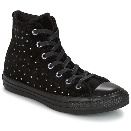 bcd2ddf159c Converse CHUCK TAYLOR ALL STAR HI Black - Free delivery with Spartoo ...