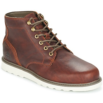 Shoes Men Mid boots Timberland NEWMARKET LUG PT CHUKKA Brown