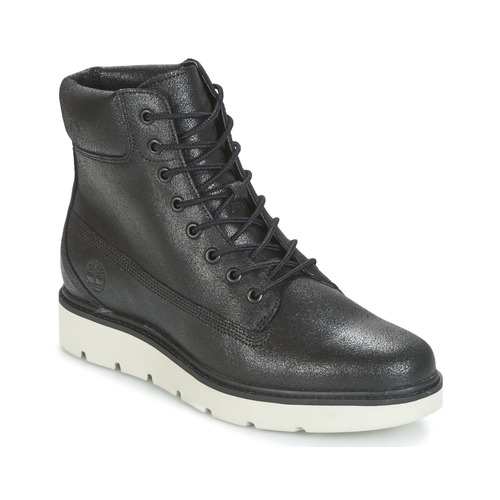 Shoes Women Hi top trainers Timberland KENNISTON 6IN LACE UP Black