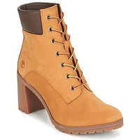 Shoes Women Ankle boots Timberland ALLINGTON 6IN LACE UP Brown
